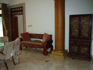 Cozy House with Ethnic Furniture