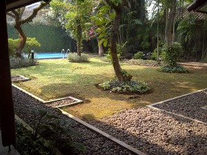 House for lease with large garden at Bukit Golf